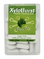 XyloBurst - Xylitol Chewing Gum Flip-Top Jar Green