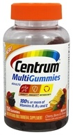 Centrum - MultiGummies for Adults Natural Cherry, Berry