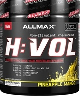AllMax Nutrition - HVOL Hemanovol Ultra Concentrated Pineapple