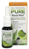 Pure - Homeopathic All Natural Nasal Mist -