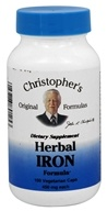 Dr. Christopher's Original Formulas - Herbal Iron Formula