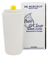Dr. Mercola Premium Products - Pure and Clear Shower Filter Replacement Cartridge