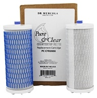 Pure and Clear Countertop Water Filter Replacement Cartridge