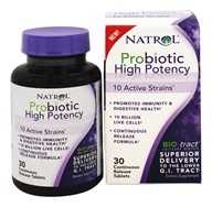 Natrol - Probiotic High Potency - 30 Tablets