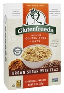 Glutenfreeda - Instant Oatmeal Brown Sugar with Flax
