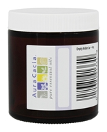 Aura Cacia - Empty Amber Glass Jar -
