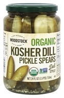 Woodstock Farms - Organic Kosher Dill Pickle Spears