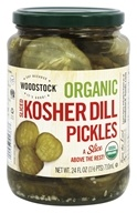 Woodstock Farms - Organic Kosher Sliced Dill Pickles