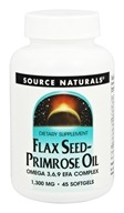 Source Naturals - Flax Seed-Primrose Oil 1300 mg.
