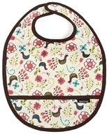 Keep Leaf - Toddler Pocket Bib Birds