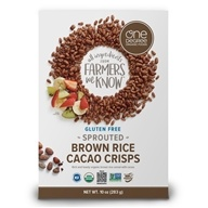 Sprouted Brown Rice Cacao Crisps Gluten Free Cereal