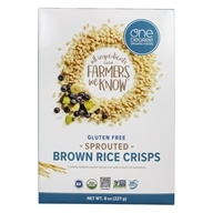 Veganic Sprouted Brown Rice Crisps Cereal