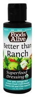 Foods Alive - Organic Superfood Dressing Better than
