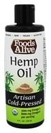 Foods Alive - Organic Hemp Oil - 8
