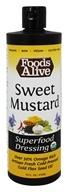 Foods Alive - Organic Superfood Dressing Sweet Mustard