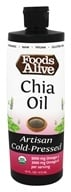 Foods Alive - Organic Chia Oil - 16