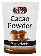 Foods Alive - Organic Raw Dominican Cacao Powder