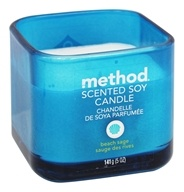 Method - Scented Soy Candle Beach Sage -