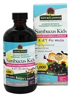 Nature's Answer - Sambucus Kid's Formula Infused with