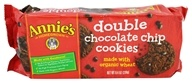 Annie's - Double Chocolate Chip Cookies - 8.4