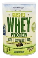 ReserveAge Organics - Grass-Fed Whey Protein Chocolate -