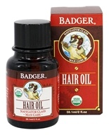 Badger - Organic Man Care Men's Hair Oil