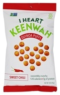 I Heart Keenwah - Quinoa Puffs Sweet Chili