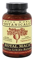 Whole World Botanicals - Royal Maca Vitality-Libido-Balance -