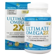 Nordic Naturals - Ultimate Omega 2X Lemon 2150