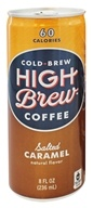 High Brew - Cold-Brew Coffee Salted Caramel -