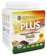 Sunwarrior - Classic Plus Organic Raw Plant-Based Protein