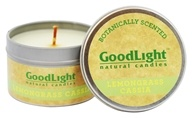 GoodLight Natural Candles - Botanically Scented Lemongrass Cassia
