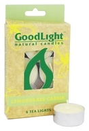 GoodLight Natural Candles - Tea Lights Lemongrass Cassia