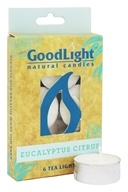 GoodLight Natural Candles - Tea Lights Eucalyptus Citrus