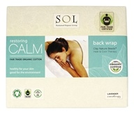 SOL - 100% Organic Cotton Restoring Calm Back