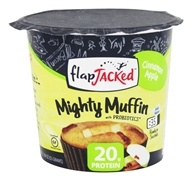 FlapJacked - Mighty Muffin with Probiotics Cinnamon Apple