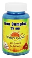 Nature's Life - Iron Complex 25 mg. -