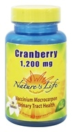 Nature's Life - Cranberry 1200 mg. - 30