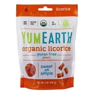 Yum Earth - Gluten-Free Licorice Peach - 5