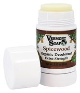 Vermont Soapworks - Organic Deodorant Extra Strength Spicewood