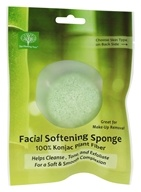 The Healing Tree - Facial Softening Sponge Green