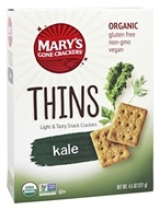Mary's Gone Crackers - Organic Thins Kale -