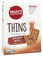 Mary's Gone Crackers - Organic Thins Ancient Spice