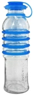 BottlesUp - Glass Water Bottle Blue - 22