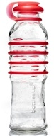 BottlesUp - Glass Water Bottle Red - 22