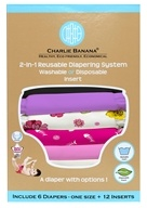 Charlie Banana - Diapers One Size Set Sassy
