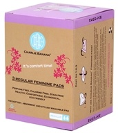 Charlie Banana - Feminine Pad Regular White -