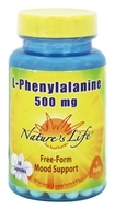Nature's Life - L-Phenylalanine 500 mg. - 50