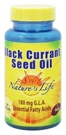 Nature's Life - Black Currant Seed Oil -