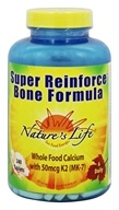 Nature's Life - Super Reinforce Bone Formula -